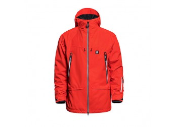HORSEFEATHERS YMIR JACKET - FIERY RED