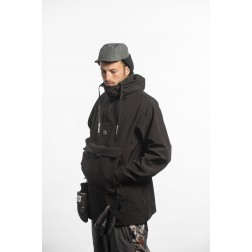 BRETHREN APPAREL SOFTSHELL ANORAK - NIGHTWATCH