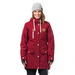 HORSEFEATHERS GETTY JACKET - RED