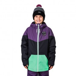 HORSEFEATHERS FAY KIDS JACKET - GRAPE