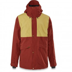 DAKINE WYEAST JACKET - RUSSET/FENNEL