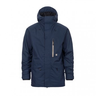 HORSEFEATHERS KEEGAN JACKET - NAVY