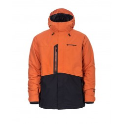 HORSEFEATHERS BARKELL JACKET - JAFFA ORANGE