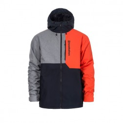 HORSEFEATHERS WRIGHT JACKET - RED ORANGE