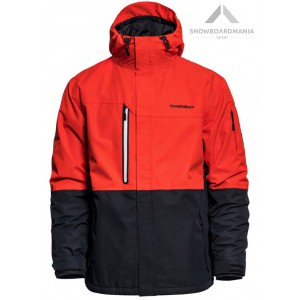 HORSEFEATHERS RIPPLE JACKET - FIERY RED
