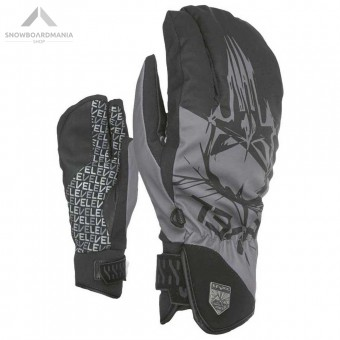 LEVEL GLOVES GUANTO SUBURBAN TRIGGER - NERO E GRIGIO