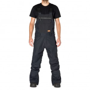 HORSEFEATHERS HUEY PANTS - BLACK