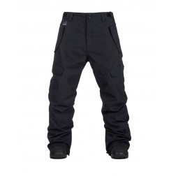 HORSEFEATHERS BARS PANTS - BLACK