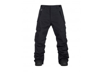 HORSEFEATHERS BARS PANTS - BLACK