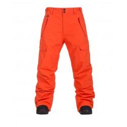 HORSEFEATHERS BARS PANTS - RED ORANGE