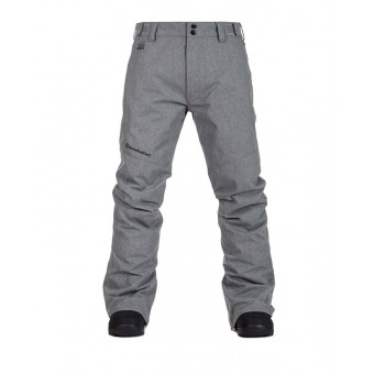 HORSEFEATHERS SPIRE PANTS - HEATHER GRAY