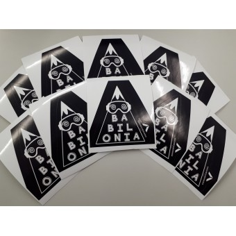 SONS OF BABYLON STICKERS - INTERMEDIATE PACK 10pz