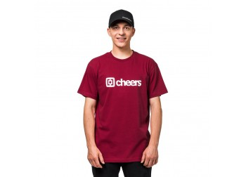 HORSEFEATHERS SKALL T-SHIRT - RED