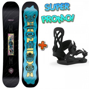 CAPITA SET CAPITA HORRORSCOPE 155 + UNION CONTACT PRO BLACK M