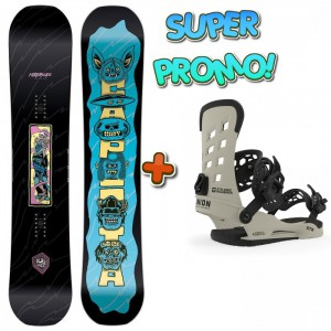 CAPITA SET CAPITA HORRORSCOPE 155 + UNION STR BONE L