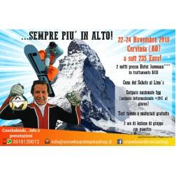 SNOWBOARDMANIA 22-24 NOVEMBRE A CERVINIA (AO) - ...SEMPRE PIU' IN ALTO!