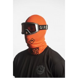 BRETHREN APPAREL ROBBIN HOOD BALACLAVA - FLORIDA ORANGE