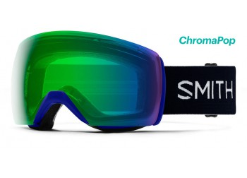 SMITH OPTICS SKYLINE XL KLEIN BLUE - CHROMAPOP EVERYDAY GREEN MIRROR